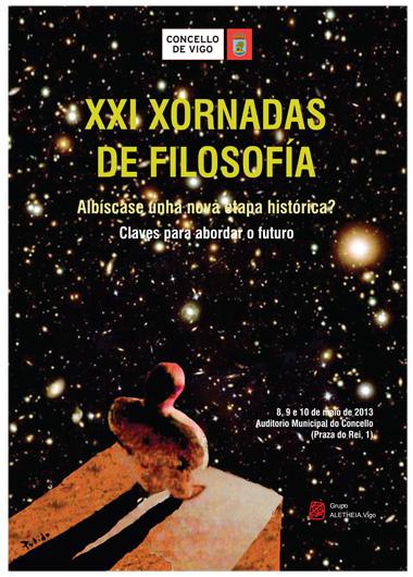 cartel XXI Xornadas Filosofia2